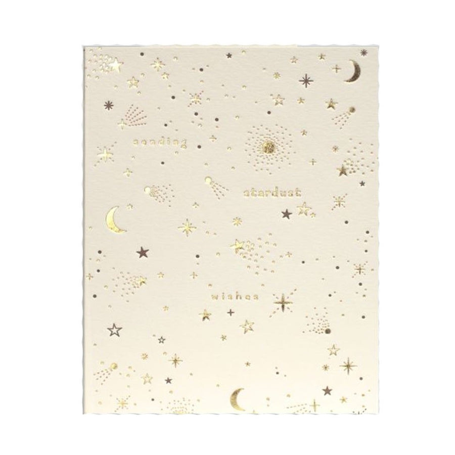 sending stardust wishes birthday greeting card