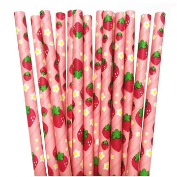 Strawberry Straws