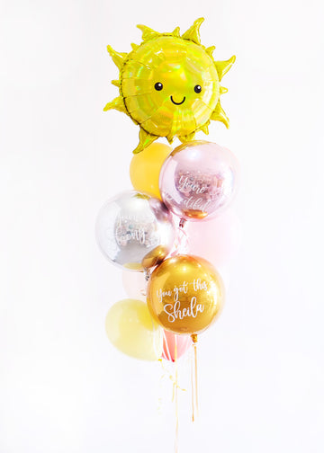 Sunshine Custom Balloongram