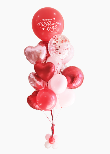 Superlove Red | Valentine's Day Balloongram