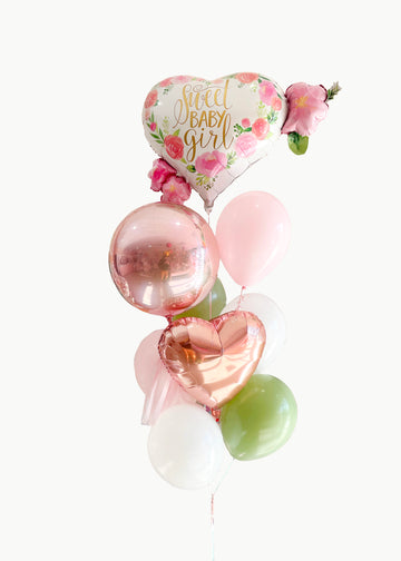 Sweet Baby Girl Balloongram