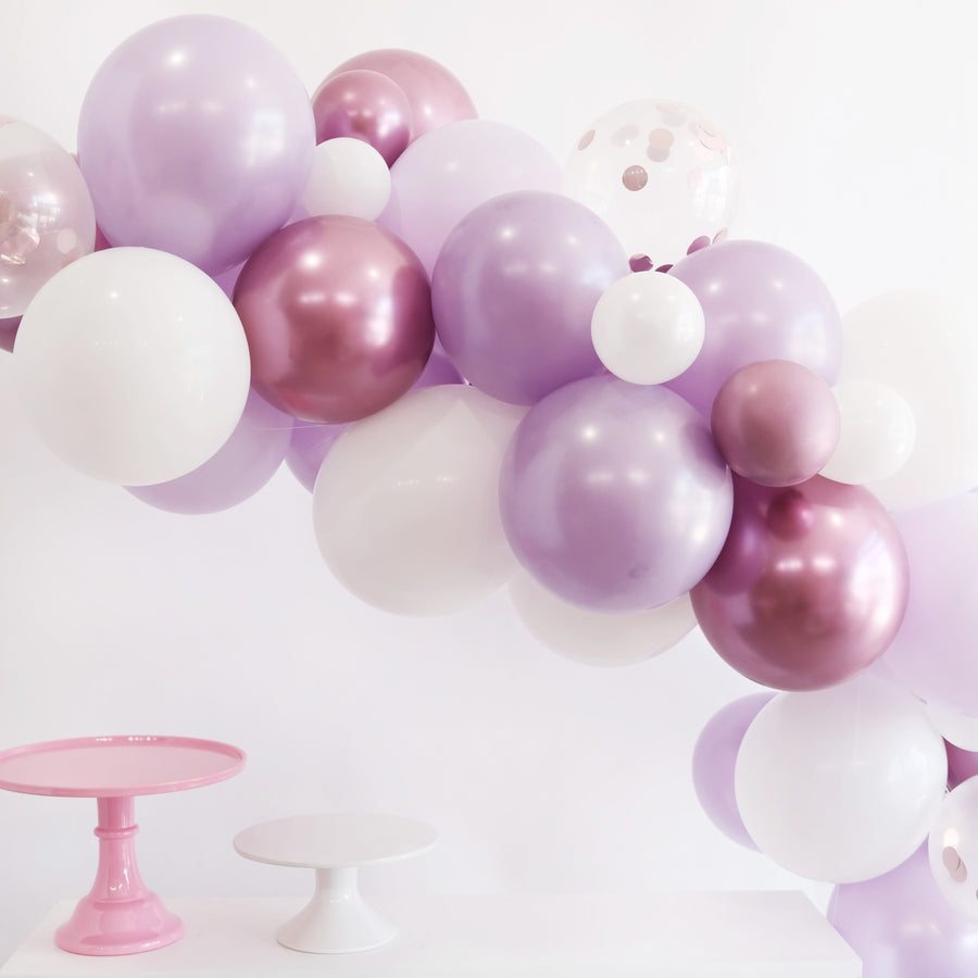 Balloon Garland DIY Kit in Taro