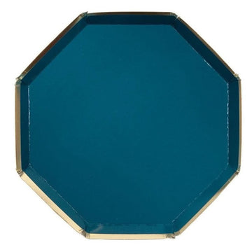Teal Side Plates