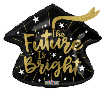 Future is Bright Small Mylar Balloon