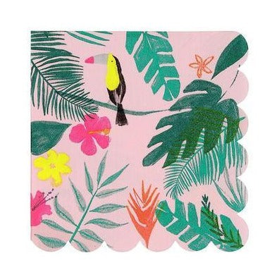 toucan jungle napkins