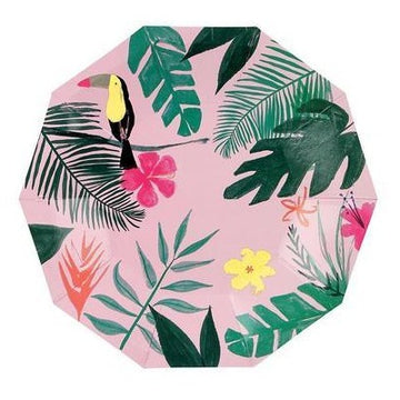 Pink Tropical Toucan Small Plates