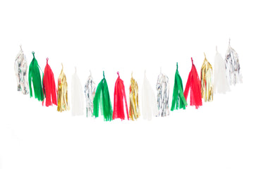 Christmas Tassel Garland - Ugly Sweater