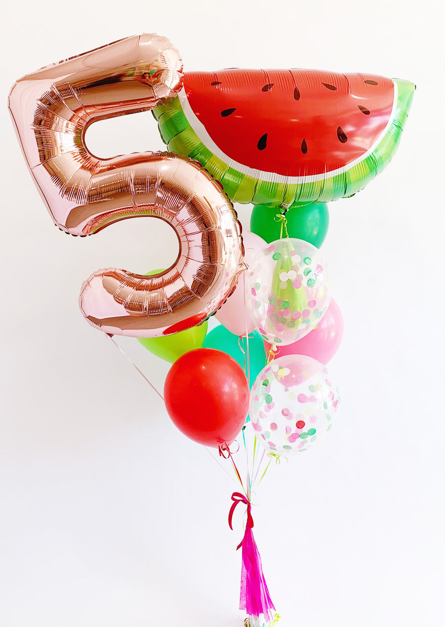 Birthday Watermelon Balloongram - Customizable!