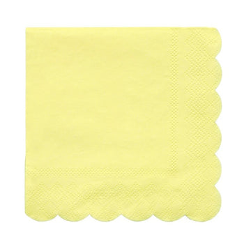 Yellow Small Napkins