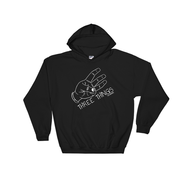 A Three Things hoodie black