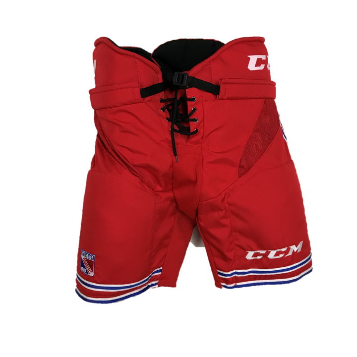 CCM Hockey Pant - New Senior Pro Stock - HP30 - Red/Blue/White (OHL Kitchener Rangers)