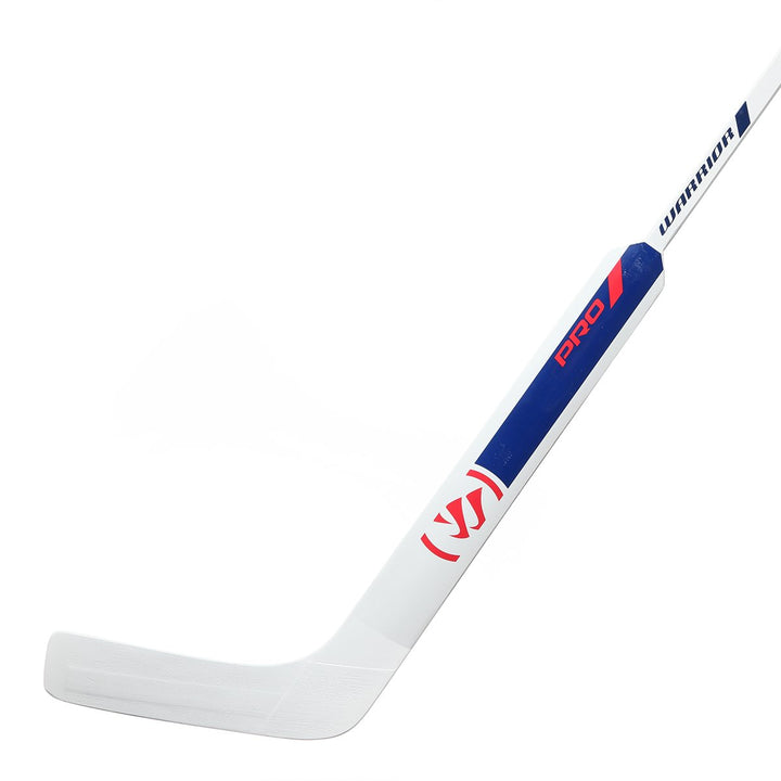 Goalie - Warrior Custom Pro - Left - White/Red/Blue