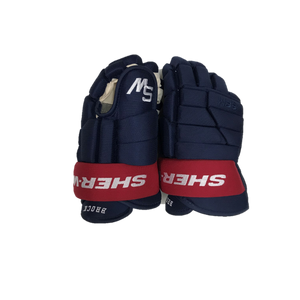 Sher-Wood BPM090 Pro Stock Glove - Blue/Red (Brock)