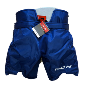 CCM HPG12A Pro Stock Hockey Goalie Pant - OHL - Blue