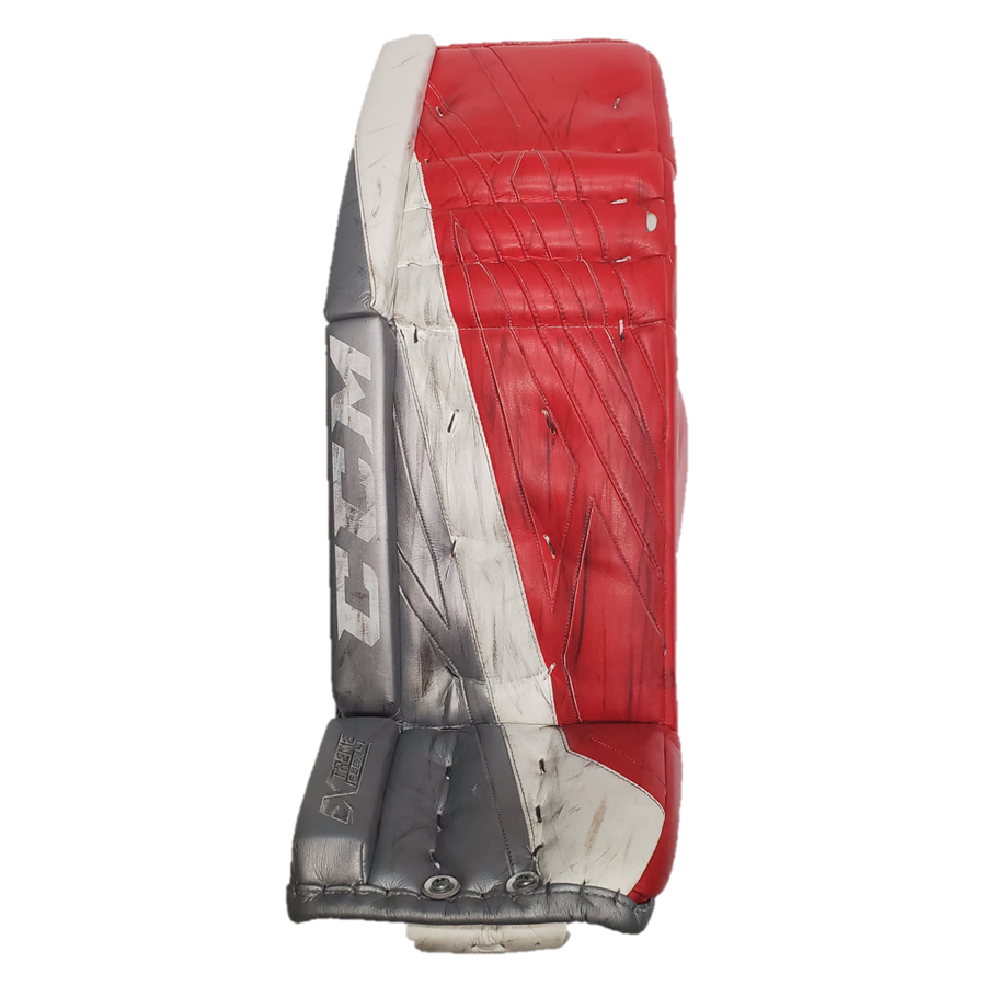 "CCM Extreme Flex 4 (NCAA) - 36.5"" Used Pro Stock Senior Goalie Pads"