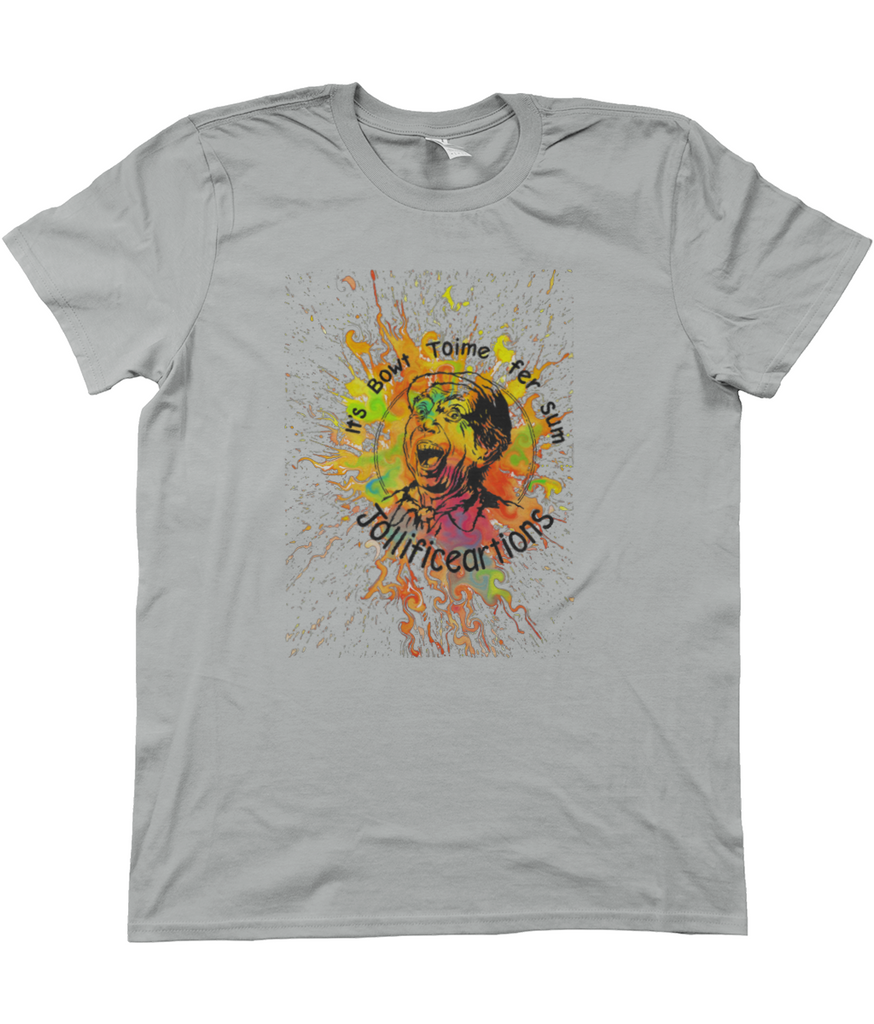Anvil Fashion Basic T-Shirt norfolk psychedelic