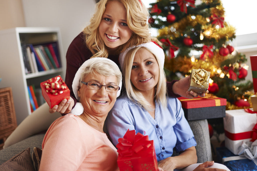 Holiday gift ideas for Mom and Grandma: Natural skin care products they will love!