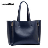 100% Natural Genuine leather Handbags fashion shopping women bag Large leather shoulder bag Messenger Business female bag BB520
