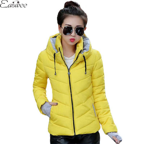 1PC 2016 Womens Winter Jackets And Coats Cotton Padded Winter Jacket Women Jaqueta Feminina Abrigos Y Chaquetas BB0007