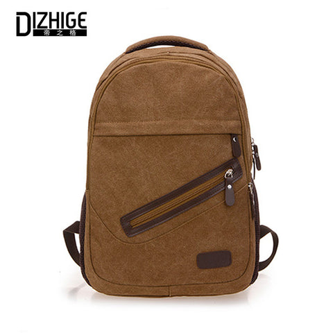 17 Inch 2016 Laptop Bag Large Mochila Masculina New Male Backpacks Famous Brand  Canvas Backpack Men Travel Bag Vintage Backpack