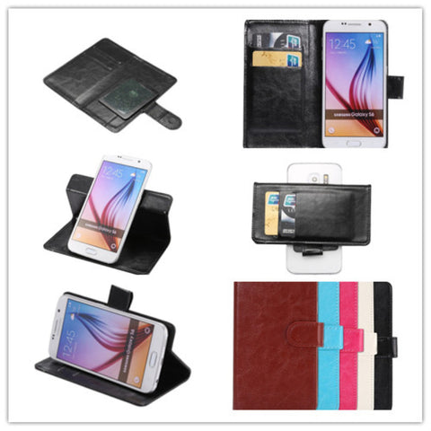 2016 Top Selling 5 colors Fashion 360 Rotation Ultra Thin Flip PU Leather Phone Cases For Acer Liquid Z6 plus