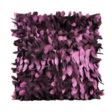 Hot Fallen Leaves Feather Couch Cover Home Throw Pillow Case