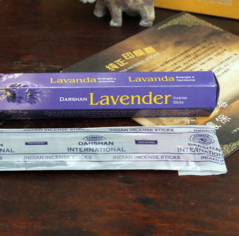 1 Bag (18sticks) Simple Pack Handmade  India Aroma Sticks Incense Lavender/Violet/Gardenia/Night Queen/Kiwi Incense Sticks
