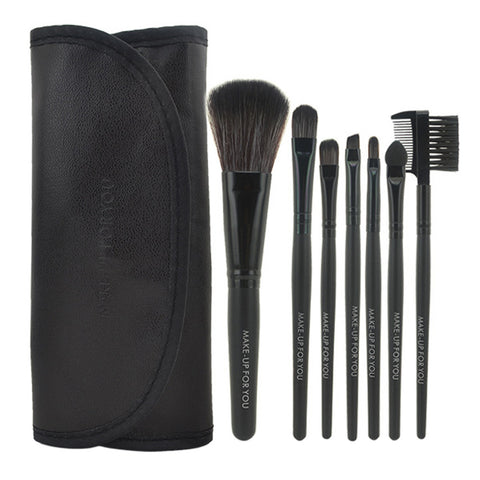 7pcs/set Makeup Brushes Professional Set Cosmetics Brand Makeup Brush Tools Foundation Brush for Face Make Up Beauty Essentials