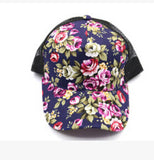 2015 New Women Baseball Hats  Sunshade Gorras Vintage Floral Rose Bone Snapback Caps Hip hopSummer Planas Flower Hip Hop Hat