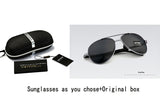 VEITHDIA Brand Design Sunglasses Men Polarized UV400 Eyes Protect Sports Coating Sun Glasses Google Pilot