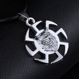 10 Models Antique Vintage Bullet Dragon Cross Pirates Skeleton Pendant Necklace Men Leather Necklace jewelry for man