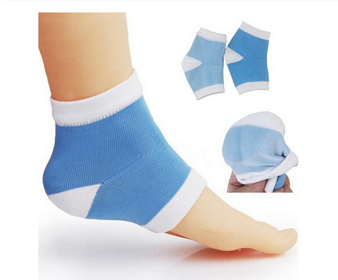 1Pair Gel Heel Socks Moisturing Spa Feet Care Product for Cracked Heels Foot Care Tool