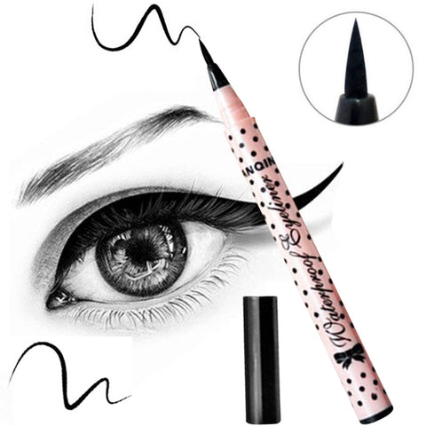 1 PCS HOT Women Lady Beauty Makeup Black Eyeliner Waterproof Long-lasting Liquid Eye Liner Pencil Pen Make Up Cosmetic Cute Tool