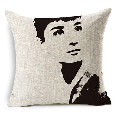 Brand Car Decorative Cushions  Geometry Art Decor Car  Cushion Throw Pillow  Funda Cojines Free Shipping HH545