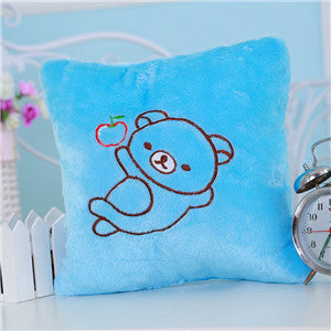 21 Style Colorful Battery Powered Decorative Flashing LED Light Cushion Plush Smiley Pillow Cushion LED Emoji Pillow Cushion