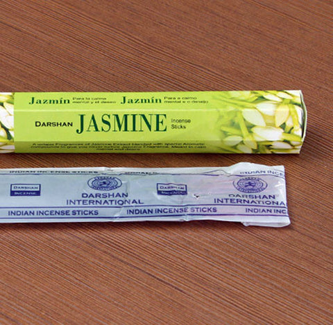 1 Bag (18sticks) Simple Pack Imported from India Handmade Incense Sticks Jasmine Scents Aroma Sticks.