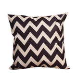 Fashion Home Decorative Linen Cotton Blended  Crown Throw Pillow Case 5 Styles Square Home Accessories 43cm x 43cm