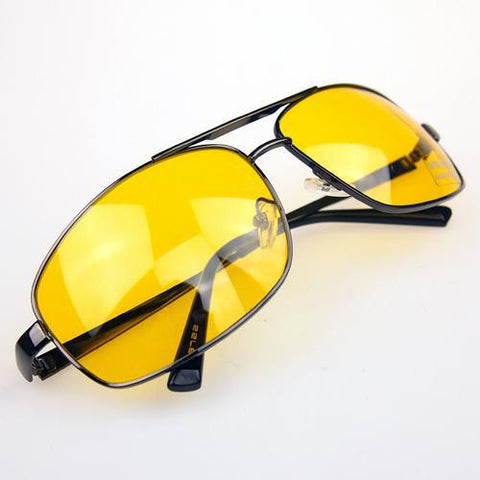Night Driving Glasses Anti Glare Vision Driver Safety Sunglasses