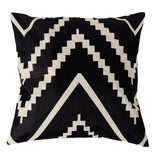 4 Styles 45*45cm Vintage Fashion Cotton Linen Decorative Cushion Cover Throw Pillow Covers