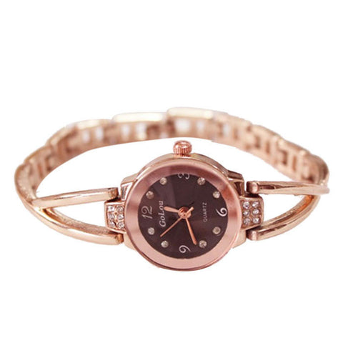 Fabulous new Women's Elegant style Quartz Watch women Dress Watches Bracelet Ladies watch relojes mujer women watches