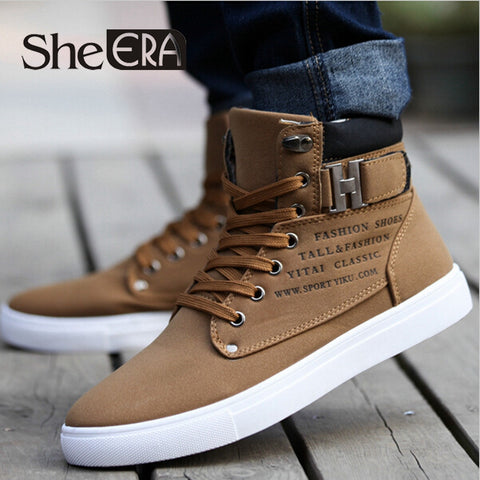 1Pair Spring Autumn Shoes Warm Men Shoes Tenis Masculino Male Men's Comfortable Casual Shoes Canvas Botas 871485