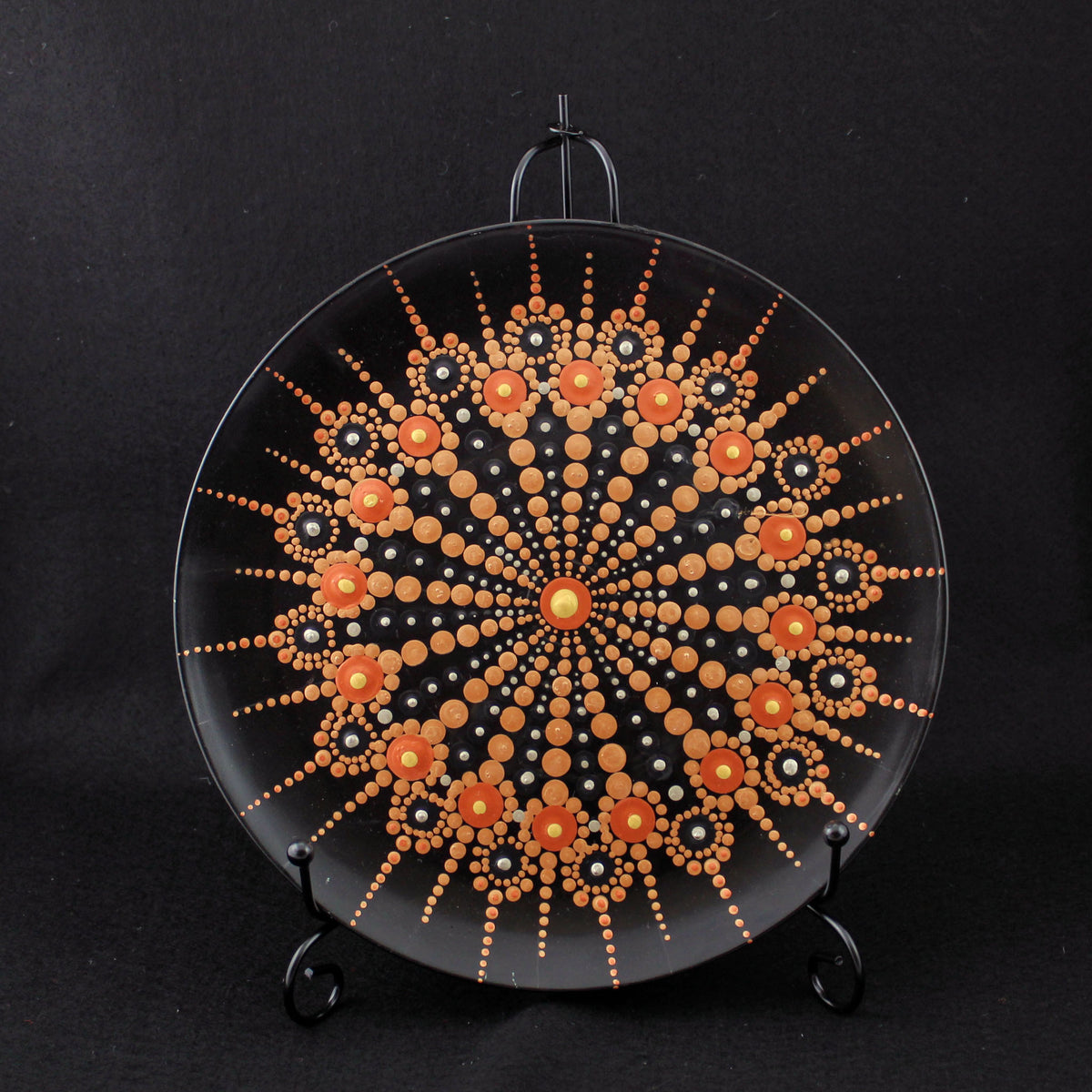 Dot Decorated Platter