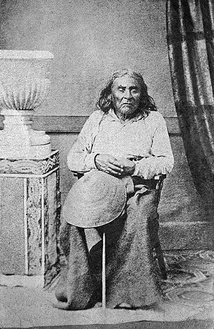 Chief Seattle, leader of the Suquamish and Duwamish Native American tribes, 1855