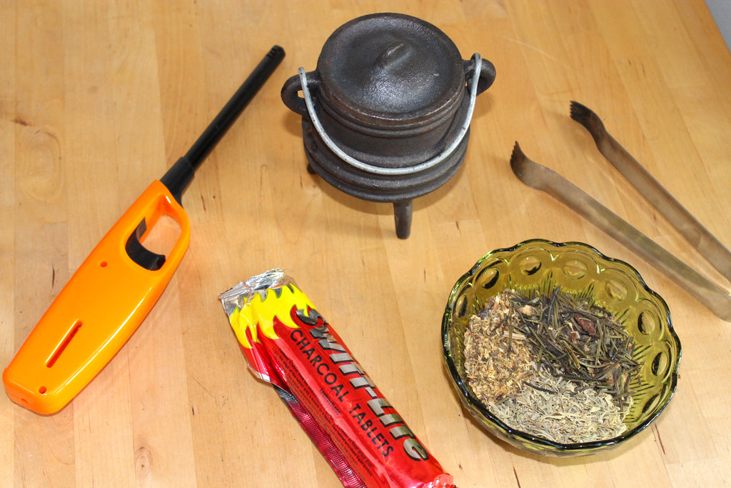 How to Properly (and Safely) Burn Loose Incense – House of Intuition