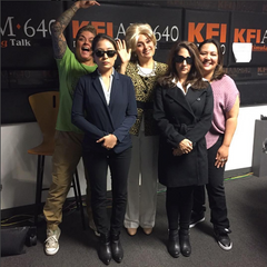 HOI Owners Interviewed by Elizabeth Espinoza on kflam640