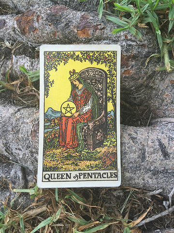 Tarot Card Of The Week: Queen Of Pentacles