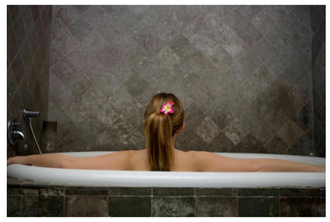 Herbs and Flowers in Ritual Baths