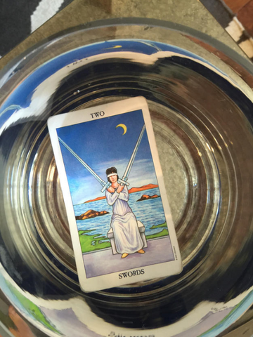 Two of Swords Tarot Card Meaning : Tarot Card of the Week