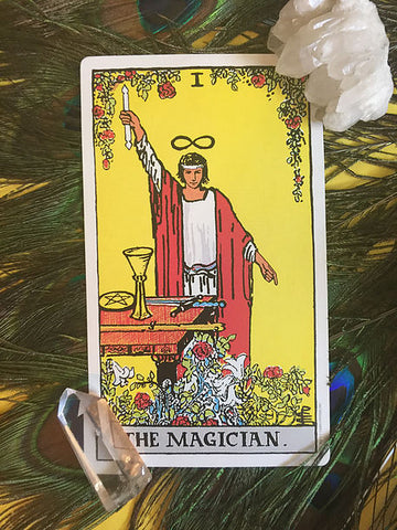 Tarot Card of The Week: The Magician – House of Intuition