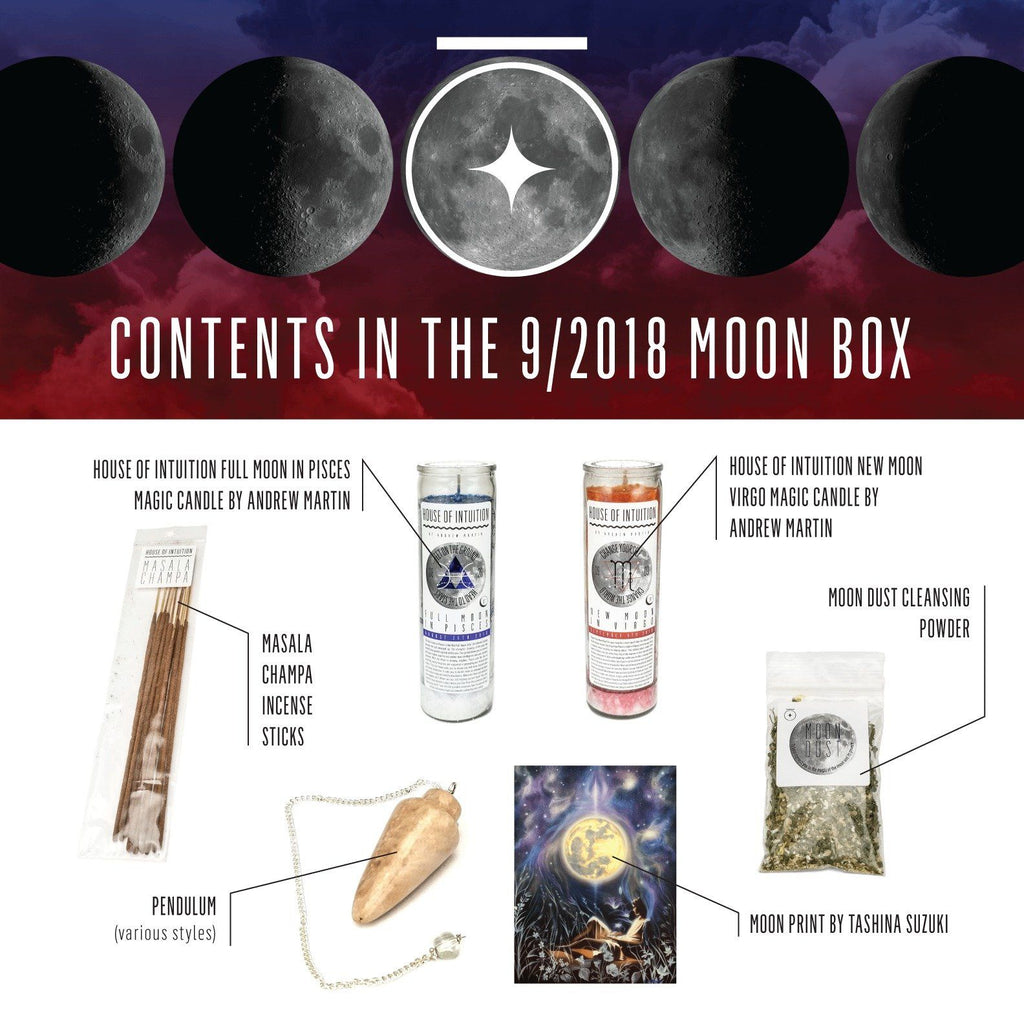 House of Intuition Moon Collection Box (non-subscription)